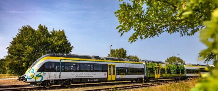 เยอรมนีเปิดตัวรถไฟฟ้าขับเคลื่อนด้วยเซลล์เชื้อเพลิงไฮโดรเจนรายแรกของโลก