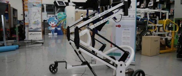 เครื่องช่วยเดิน Space Walker นวัตกรรมใหม่สำหรับการกายภาพบำบัด